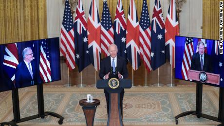 Analysis: Australia's decades-long balancing act between the United States and China is over.  Washington chose that