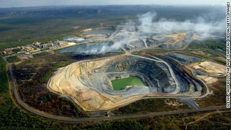 On September 1, 2004, a grass fire broke out at a uranium mine near Mount Brockman in Kakadu National Park, Australia.