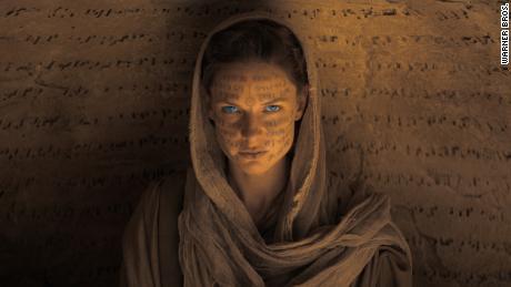 "Rebecca Ferguson as Jessica Atreides in ""Dune."""