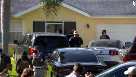 The FBI executed a search warrant at Brian Laundrie's home on September 20.