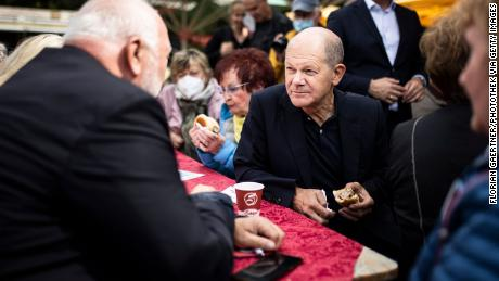 Olaf Scholz has taken a surprise lead in polling in recent weeks.