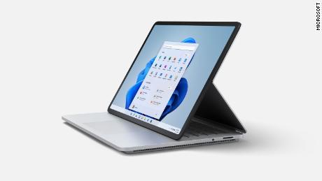 Microsoft's Surface Laptop Studio has three modes: laptop, stage and studio