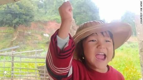 Su Htet Waing spent 18 days in detention.