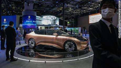 Evergrande's electric car company is having trouble paying its suppliers