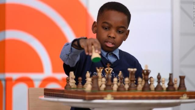 Chess prodigy wants to become the game's youngest ever grandmaster
