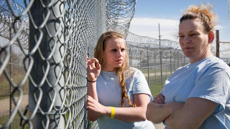 """<strong>""""Jacinta""""</strong>: Shot over three years, this doc about generational trauma begins at the Maine Correctional Center where Jacinta, 26, and her mother Rosemary, 46, are incarcerated together, both recovering from drug addiction. <strong>(Hulu) </strong>"""