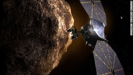 NASA's Lucy mission will observe the oldest 'fossils' in the Solar System