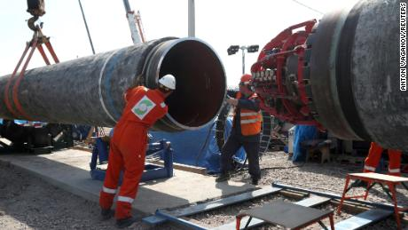 Russia says Berlin could ease natural gas crisis by approving Nord Stream 2