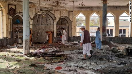 Explosion at mosque in Afghanistan kills 46