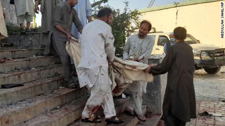 A suicide bomber was responsible for the Kunduz blast.