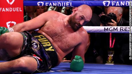 Fury was brought to canvas by Wilder in the fourth round.