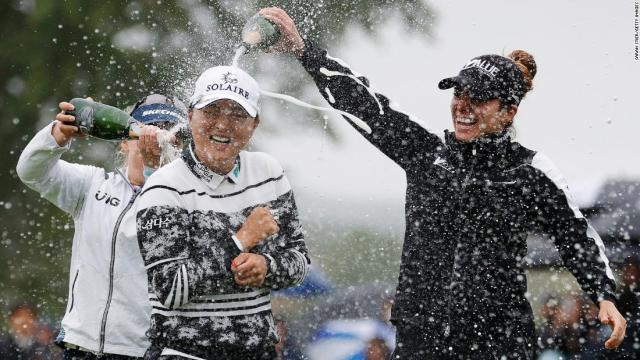 Ko Jin-young equals golfing history with dominant Founders Cup win