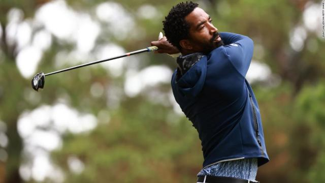 Exactly a year to the day after winning NBA title, former player JR Smith makes college golf debut