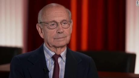Stephen Breyer says now is not the time to lose faith in the Supreme Court