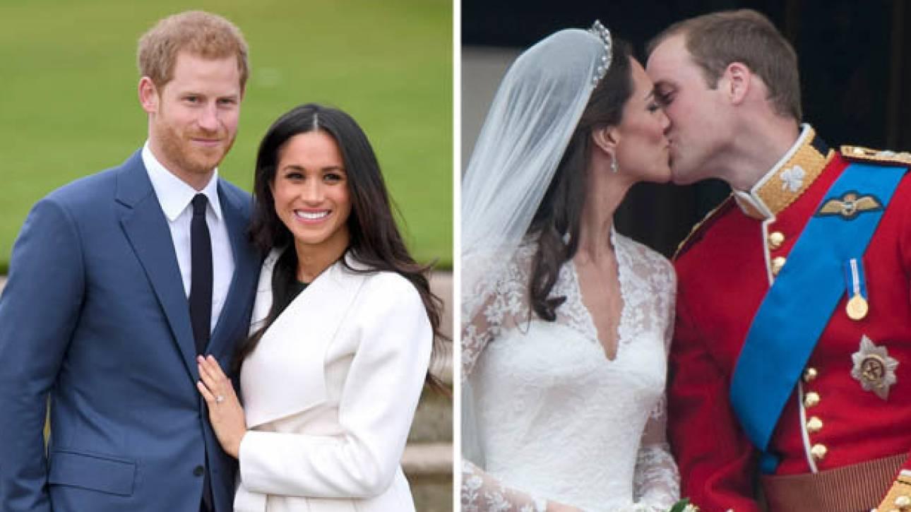 Χάρι-Μέγκαν Μαρκλ: ηχηρές απουσίες & λιγότεροι καλεσμένοι από τον γάμο των Ουίλιαμ-Μίντλετον