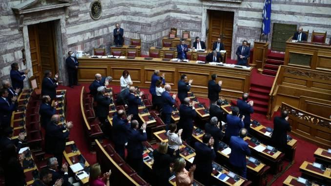 Υπερψηφίστηκε το νομοσχέδιο για τις διαδηλώσεις με 187 «ναι»