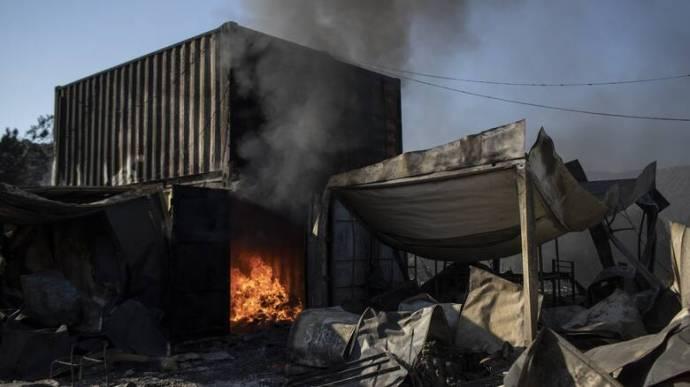 Νέα φωτιά στη Μόρια - CNN.gr