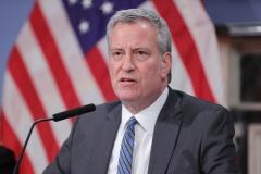 New York City Mayor Bill de Blasio experienced a bit of a legal embarrassment. (Photo credit: EuropaNewswire/Gado/Getty Images)