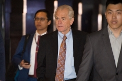 White House economic adviser Peter Navarro in Beijing for trade talks in May 2018. (Photo by Nicolas Asfour/AFP via Getty Images)