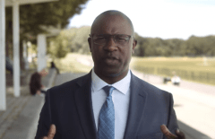 """Leftist candidate Jamaal Bowman says he """"can't wait to get to DC and cause problems for those maintaining the status quo."""" (Photo: Screen capture/Bowman for Congress campaign website)"""