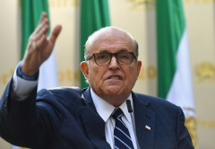 Former mayor New York City Rudy Giuliani (Photo by ANGELA WEISS/AFP via Getty Images)