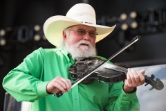 Charlie Daniels' decorated career as a singer, song writer, guitarist, and fiddler spanned several decades. (Photo credit: Erika Goldring/WireImage)