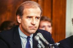 Delaware Democratic Sen. Joe Biden in the 1980s. (Photo by Ron Sachs/CNP/Getty Images)