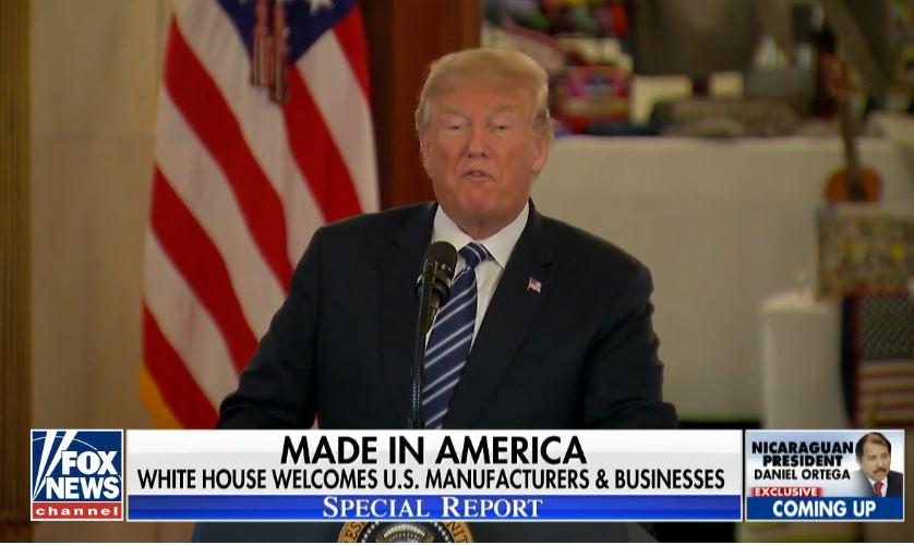 president trump we have