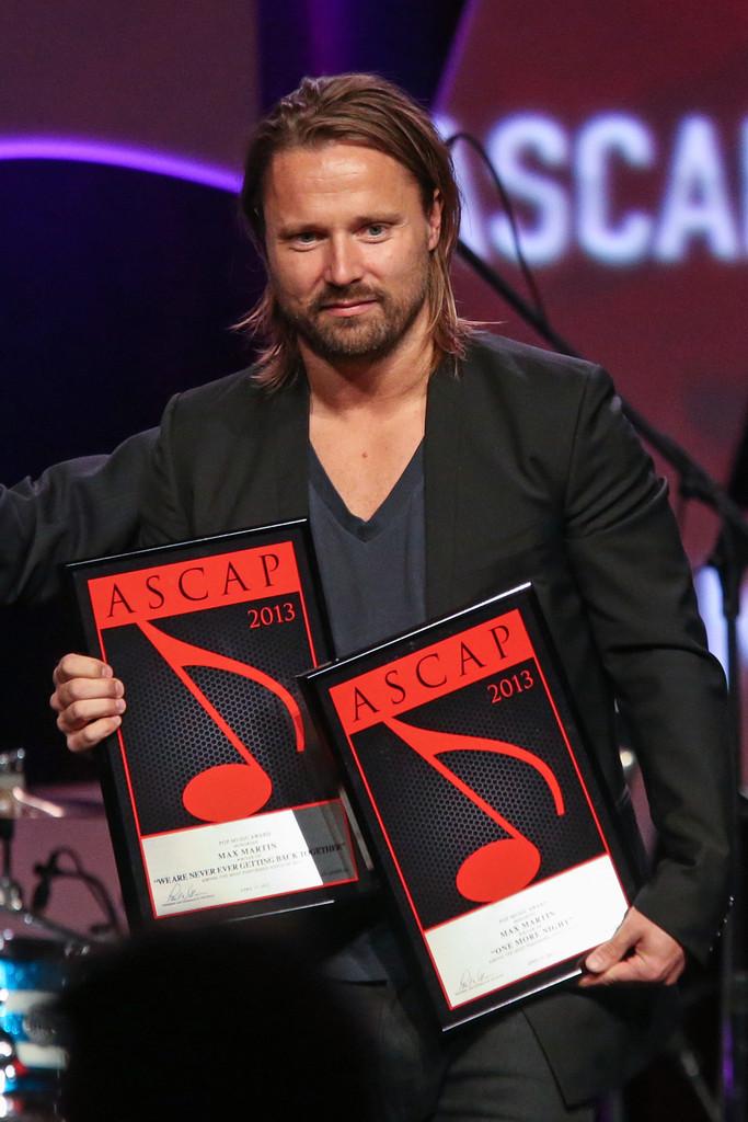 Max Martin ASCAP Awards