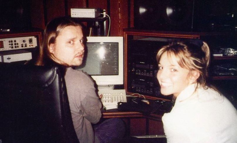 Max Martin with Britney Spears