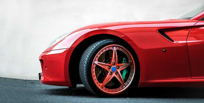 تغيير لون جنط السيارة حسب لونك المفضل كوبون