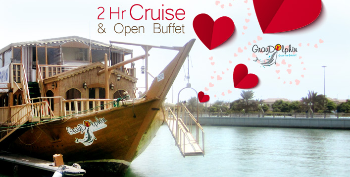 2 Hour Valentines Day Dhow Cruise Amp Dinner