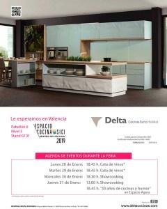 delta cocinas, espacio cocina sici, actividades, cata de vino, showcooking, rioja, fabricante de cocinas