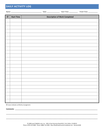By filing the daily log, you have the will to get better on your job. 22 Daily Log Template Page 2 Free To Edit Download Print Cocodoc