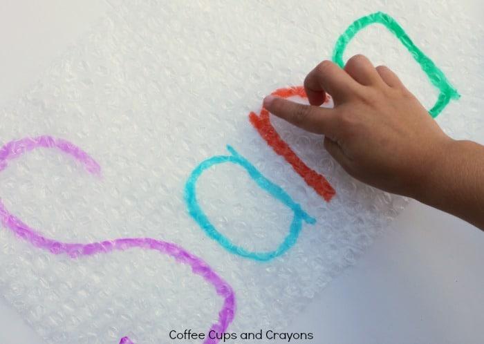 preschool name writing activity