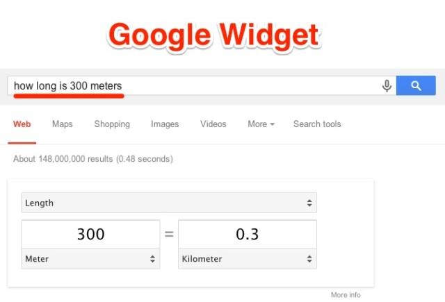 Google Widget Definition