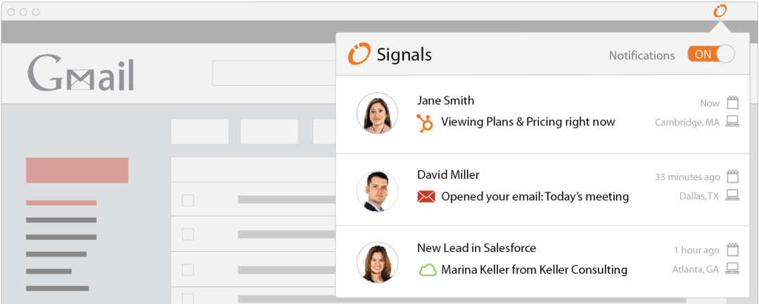 Signals Extension