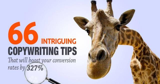 66 copywriting tips that will bosst your conversion