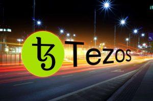 tezos gains all-time high