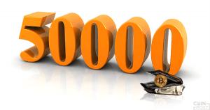 ビットコインなどのソフトウェアウォレット英企業:1日5万人の新規登録があると言及