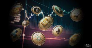 出来高水増しが少ない仮想通貨、トップにBNBとXRP|ブロックチェーン調査企業が公表
