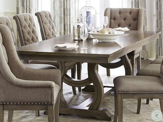 Vermillion Subtle Bisque Extendable Dining Room Set From Homelegance Coleman Furniture