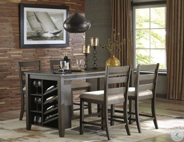 Rokane Light Brown Rectangular Counter Height Dining Room Set From Ashley Coleman Furniture