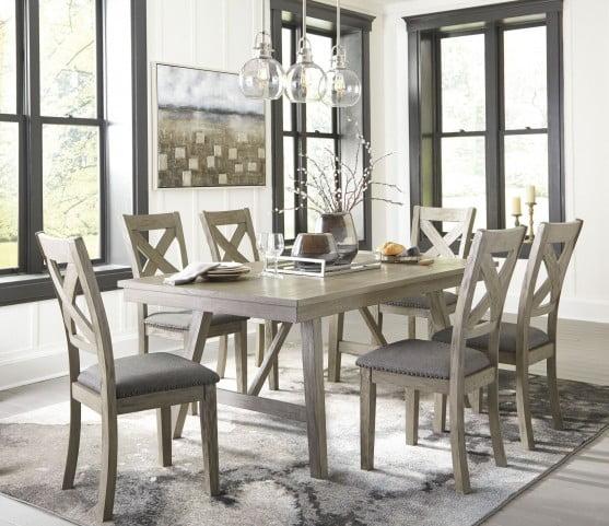 Aldwin Gray Rectangular Dining Room Set From Ashley Coleman Furniture