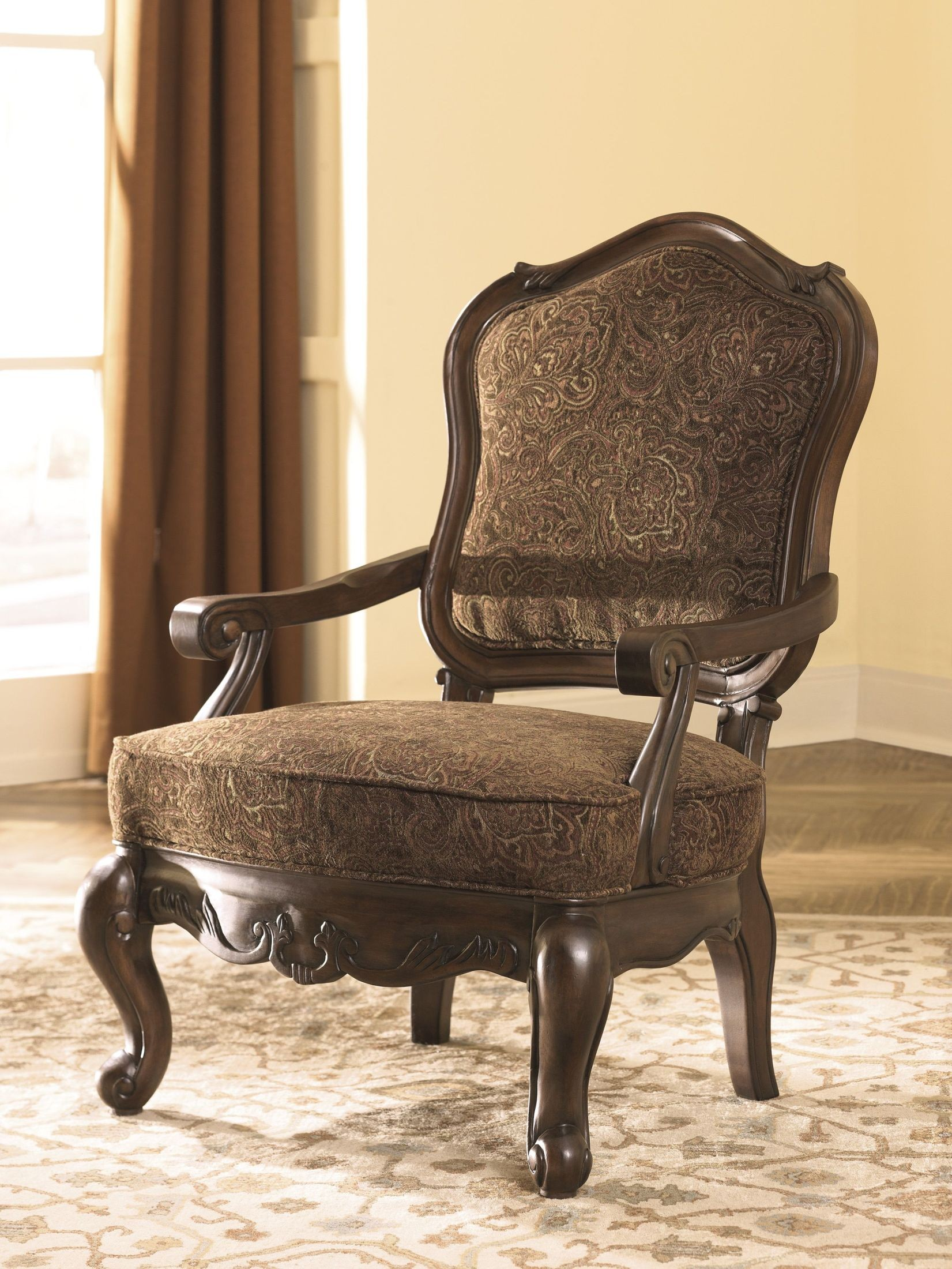 2 accent chairs office on sale walmart north shore dark brown showood chair 2260360