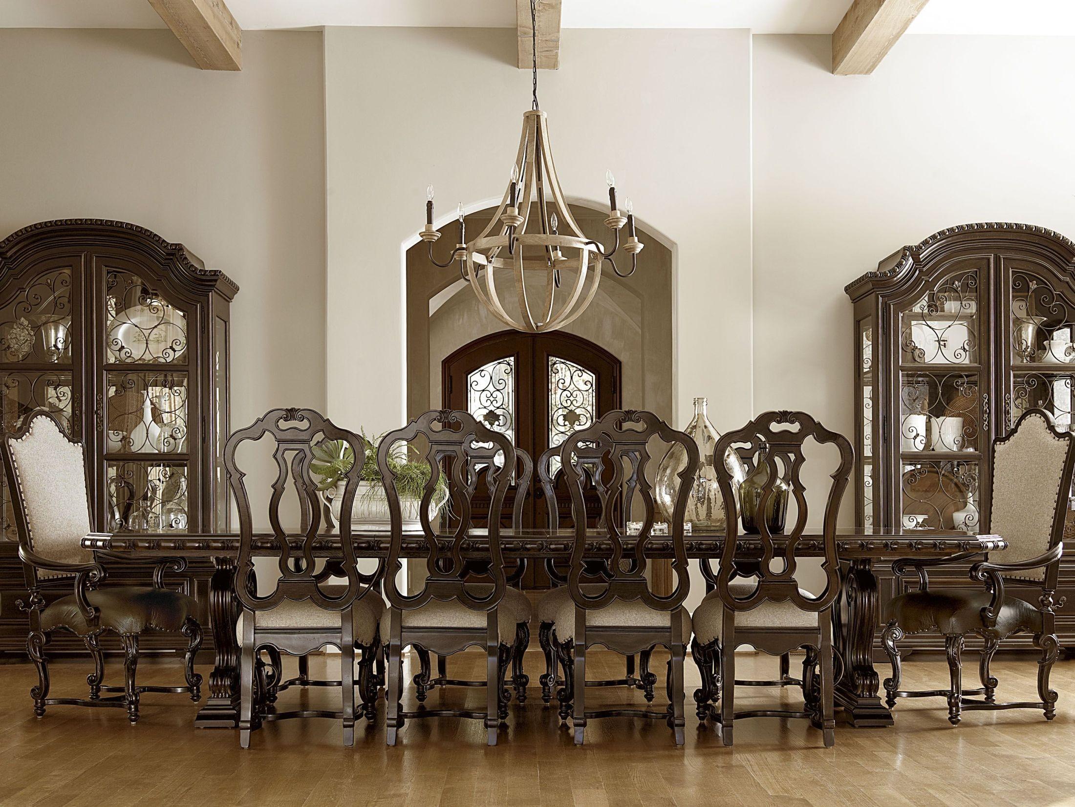 Castella Valencia Rectangular Extension Dining Room Set