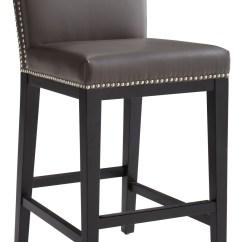 Bar Stool Chair Grey Covers Ikea Uk Vintage Leather Counter 65878 Sunpan