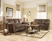 Amazon Walnut Living Room Set by Ashley Furniture - 6750 ...