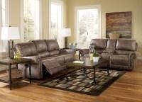 Oberson Gunsmoke Reclining Living Room Set, 74100, Ashley ...