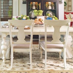Paula Deen Table And Chairs Best Potty Chair For Boys Home Linen Rectangular Extendable Dining Room